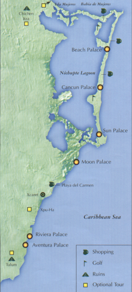Moon Palace Location